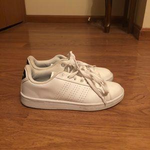 White leather women's size 8 Adidas